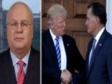 Karl Rove: You Get One Chance To Introduce Yourself In A New Role And Mitt Romney Chose To Attack President Trump