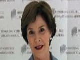 Laura Bush Speaks At Town Hall Event In FL