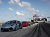 Lamborghini Tops 200 Mph On Airport Runway