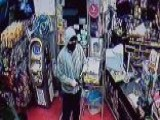 Liquor Store Owner Shocks Robber