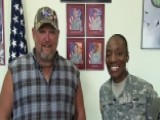 Larry The Cable Guy Salutes The Troops