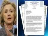 Letter Shows Hillary Was Asked About Personal E-mail In 2012