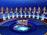 Lineups Announced For First GOP Presidential Debate