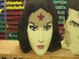 LEGO Artist Crafts Life-sized Models Of Superheroes