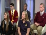 Lucky High School Students Picked To Meet The Pope