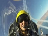 Lea Flies With The Breitling Jet Team