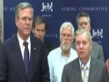 Lindsey Graham Endorses Jeb Bush For President