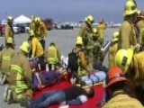 LAX Holds Drill To Simulate Emergency, Test Response