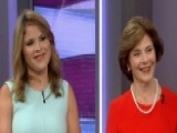 Laura Bush, Jenna Bush Hager Talk 'Our Great Big Backyard'