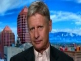 Libertarian Nominee Gary Johnson Makes His Pitch To Voters