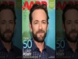 Luke Perry Is AARP's Cover Boy