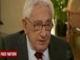 Look Who's Talking: Henry Kissinger