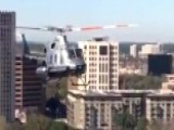 Low-flying Helicopter Shocks Houston Residents