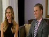 Lara And Eric Trump Talk Handling Negativity From Media