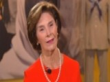 Laura Bush Previews First Ladies Exhibit At The Bush Center