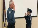Little Boy Battling Cancer Sworn In As Police Officer