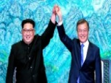 Leaders For North And South Korea Hold Historic Meeting