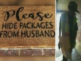 Loyal Delivery Man Hides Woman's Packages From Her Husband