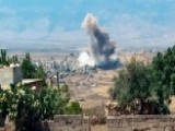 Last Rebel-held Stronghold In Syria Targeted By Airstrikes