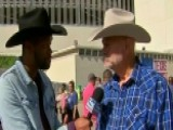 Lawrence Jones Visits Texas State Fair