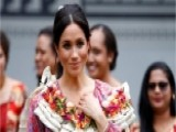 Large Crowds Cut Meghan Markle's Visit Short To Fiji Market