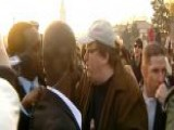 Michael Moore Clashes With Reporter At 'Occupy Denver' Protest