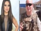Mila Kunis Still Friends With Marine