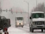 Massive Winter Storm Churns Across Midwest