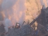 Massive Fire Rips Through Jersey City Recycling Plant