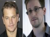 Matt Damon Praises NSA Leaker Edward Snowden