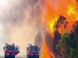More Than 50 Brush Fires Burn Across Region In Australia