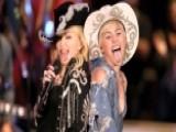 Miley, Madonna Get Wild