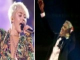 Miley Cyrus Simulates Oral Sex On Bill Clinton Impersonator