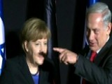 Merkel's Shadow Mustache Goes Viral