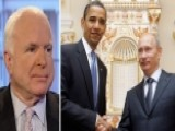McCain Blasts Obama's 'total Misreading' Of Putin