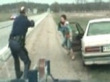 Mother With Daughter In Lap Leads Cops On High-speed Chase