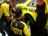 Matt Kenseth Shows 'Fox & Friends' How To Change A Tire
