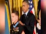 Marine Kyle Carpenter Receives Medal Of Honor