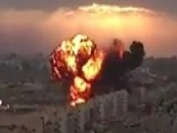 Massive Fireball After Fighter Jet Crashes Into Apartment