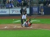 Marlins Star Stanton Hit In Face By Pitch, Seriously Injured