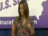Michelle Obama Mispronounces Candidate's Name
