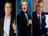 Mitt, Hillary, Jeb, Chris, Mike, Bernie, Rand