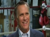 Mitt Romney On Going Toe-to-toe With Evander Holyfield
