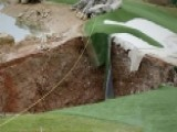 Massive Sinkhole Opens In Missouri Golf Course
