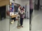 Military Brothers Surprise Sister At High School