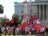 Media Assault Confederate Flag