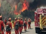 Massive California Wildfire Forcing Thousands To Evacuate