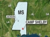 More Gunfire Reported Near Camp Shelby In Mississippi