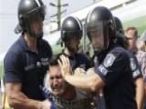Migrants Try To Head West Despite Train Service Shutdown