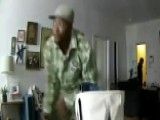 Man Watches On His Phone As Burglars Rob His Apartment